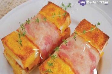 bacon cheese roll toast e1612340931394