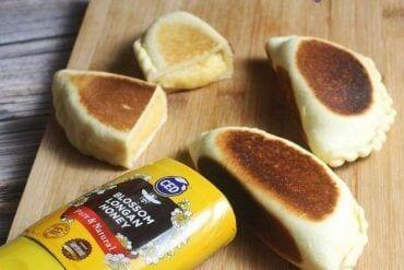 Delicious Honey Cream Bun