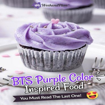 BTS Purple Color Inspired Food