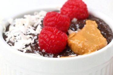 Easy Cacao Chia Pudding 1