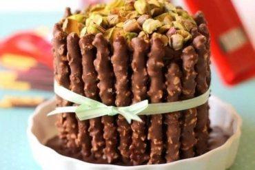 Pepero Stick Cake