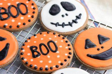 Classic Halloween Cookies