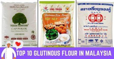Top Glutinous Flour In Malaysia