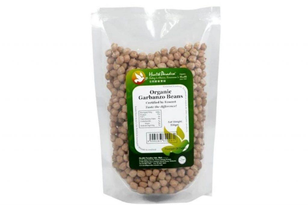 Health Paradise Organic Garbanzo Beans