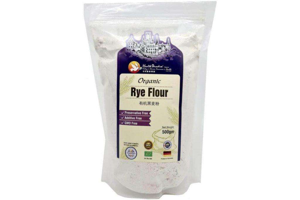 Health Paradise Organic Rye Flour